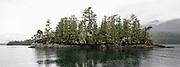Clayoquot Sound, a UNESCO World Biosphere Reserve located near Tofino in the western coast of Vancouver Island, Bristish Columbia, Canada.