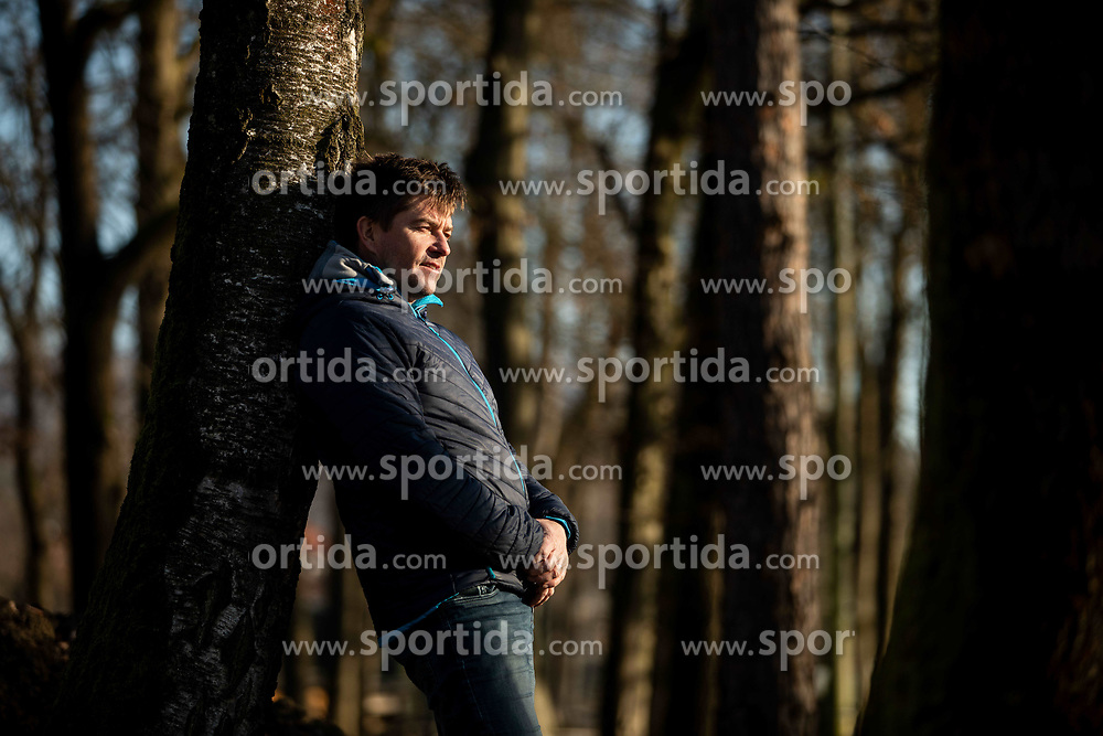 Portrait of Simon Hocevar, former kayak - canoe athlete, on December 11, 2019 in Tacen, Ljubljana, Slovenia. Photo by Vid Ponikvar/ Sportida