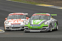 2009 Porsche Carrera Cup Great Britain.  Knockhill, Scotland, United Kingdom.  15th-16th August 2009.  (79) - Bob Lyons - Celtic Speed.  World Copyright: Peter Taylor/PSP. Copy of publication required for printed pictures. Every used picture is fee-liable.