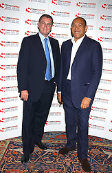 Left to right, LORD ASHCROFT and BRUCE OLDFIELD at the Bruce Oldfield Crimestoppers Party held at Spencer House, 27 St.James's Place, London SW1 on 22nd September 2005.<br /><br />NON EXCLUSIVE - WORLD RIGHTS