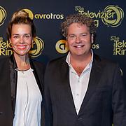 NLD/Amsterdam/20181011 - Televizier Gala 2018, Dirk Zeelenberg en partner Suus