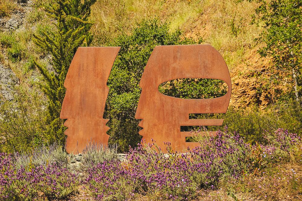 Entance, Post Ranch Inn, Big Sur, California