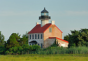East Bay Lighthouse on the Delaware Bay, New Jersey.