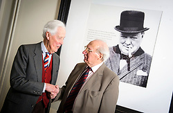 "***COPY FOUND HERE: https://www.dropbox.com/s/bj4js2ci6ctmtyw/Soldiers.txt *** © Licensed to London News Pictures. 05/02/2014 London, UK. Army driver Fred Harris, 91 (right) meets  General Sir Hugh Beach GBE, KCB, MC  (left) at The Military Services Club, Marble Arch. Driver Harris saved the then Lieutenant's life on a reconnaissance  mission in 1944 after he was shot in northern France. Beach would go on to become a General in the Army,  one of the highest ranks, knighted twice by the Queen and receive the Military Cross at aged 21. Harris never received any medals for his actions. The two men met again for the first time in 70 years. Harris said, ""It was only last year that I found out who he was., ""It was fantastic to see him again - I think he owes me a beer!""<br />