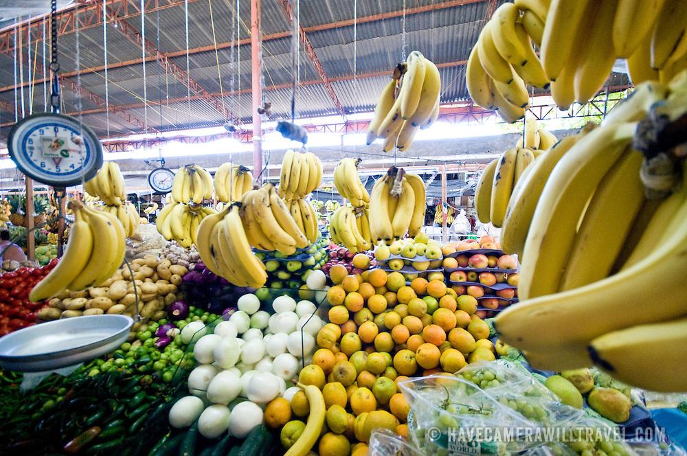 El Mercado (the central market) in Zihuatanejo, Mexico