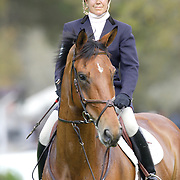 Debbie Adams (USA) and Kheops Du Quesnay at the 2007 Red Hills Horse Trials in Tallahassee, Florida