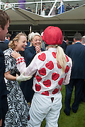 MARTHA SITWELL; PHILLIPA HOLLAND, Ladies Day, Glorious Goodwood. Goodwood. August 2, 2012