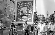 Whitemoor Branch banner. NUM Centenary Demonstration and Gala, Barnsley.