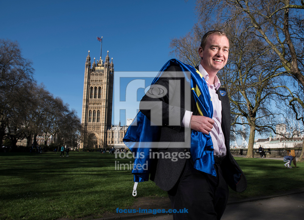 Tim Farron, leader  of the Liberal Democrats, has announced he is standing down in the wake of the General Election.  Westminster, London<br /> Picture by Daniel Hambury/Stella Pictures Ltd 07813022858<br /> 14/06/2017<br /> <br /> SPL TIM FARRON MP 06.jpg<br /> <br /> Original Caption:<br /> Tim Farron MP pictured at the Houses of Parliament, Westminster. <br /> Earlier in the day Farron had attended, and spoken at, Unite for Europe march, starting in Park Lane and ending in a rally in Parliament Square.<br /> Picture by Daniel Hambury/Stella Pictures Ltd 07813022858<br /> 25/03/2017