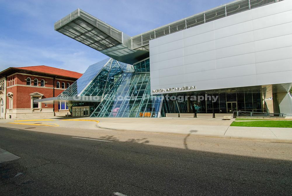 Akron Art Museum in Akron, Ohio.