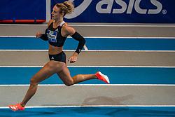 Lieke Klaver in action on 400 meter during the Dutch Indoor Athletics Championship on February 23, 2020 in Omnisport De Voorwaarts, Apeldoorn