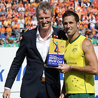 DEN HAAG - Rabobank Hockey World Cup<br /> 38 Final: Australia - Netherlands<br /> Australia wins and is World Champion.<br /> Foto: Mark Knowles.<br /> COPYRIGHT FRANK UIJLENBROEK FFU PRESS AGENCY