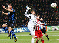Milano, 23/02/2011<br /> Champions League/Champions League/Inter-Bayern Monaco<br /> Kraft anticipa Stankovic e Lahm