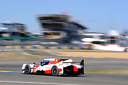 June 17, 2017 - Le Mans, Sarthe, France - Toyota Racing Toyota TS050 Hybrid rider NICOLAS LAPIER (FRA) in action during the race of the 24 hours of Le Mans on the Le Mans Circuit - France (Credit Image: © Pierre Stevenin via ZUMA Wire)