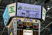 KELOWNA, CANADA - MARCH 01:  Bark & Fly Promotion at the Kelowna Rockets game on March 01, 2017 at Prospera Place in Kelowna, British Columbia, Canada.  (Photo By Cindy Rogers/Nyasa Photography,  *** Local Caption ***