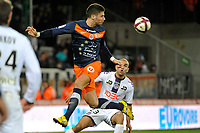 FOOTBALL - FRENCH CHAMPIONSHIP 2011/2012 - L1 - MONTPELLIER HSC v TOULOUSE FC  - 17/12/2011 - PHOTO SYLVAIN THOMAS / DPPI - OLIVIER GIROUD (MON)