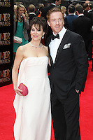 Damian Lewis; Helen McCrory, The Laurence Olivier Awards, Royal Opera House London UK, 28 April 2013, (Photo by Richard Goldschmidt)