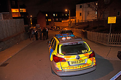 © Licensed to London News Pictures. 27/03/2019.<br />  West Norwood,UK.A teenager has been shot dead on the Hainthorpe Estate, West Norwood,London police forensics are on scene. The victim was pronouced dead at the scene. Photo credit: Grant Falvey/LNP