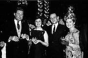 18/04/1962<br /> 04/18/1962<br /> 18 April 1962 <br /> Betty Whelan and Associates Reception at the Gresham Hotel, Dublin. At the event were (l-r): Mr E. Browne; Mrs J. Duggan; Mr J. Duggan and Miss Betty Whelan (Mrs Browne).