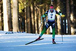 Klemen Bauer (SLO) during the Men 20 km Individual Competition at day 1 of IBU Biathlon World Cup 2019/20 Pokljuka, on January 23, 2020 in Rudno polje, Pokljuka, Pokljuka, Slovenia. Photo by Peter Podobnik / Sportida