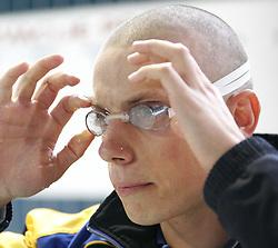 Emil Tahirovic of Slovenia at international swimming meeting Siol 2005, on June 5, 2005, Kranj Swimming pool, Kranj, Slovenia.  (Photo by Vid Ponikvar / Sportida)