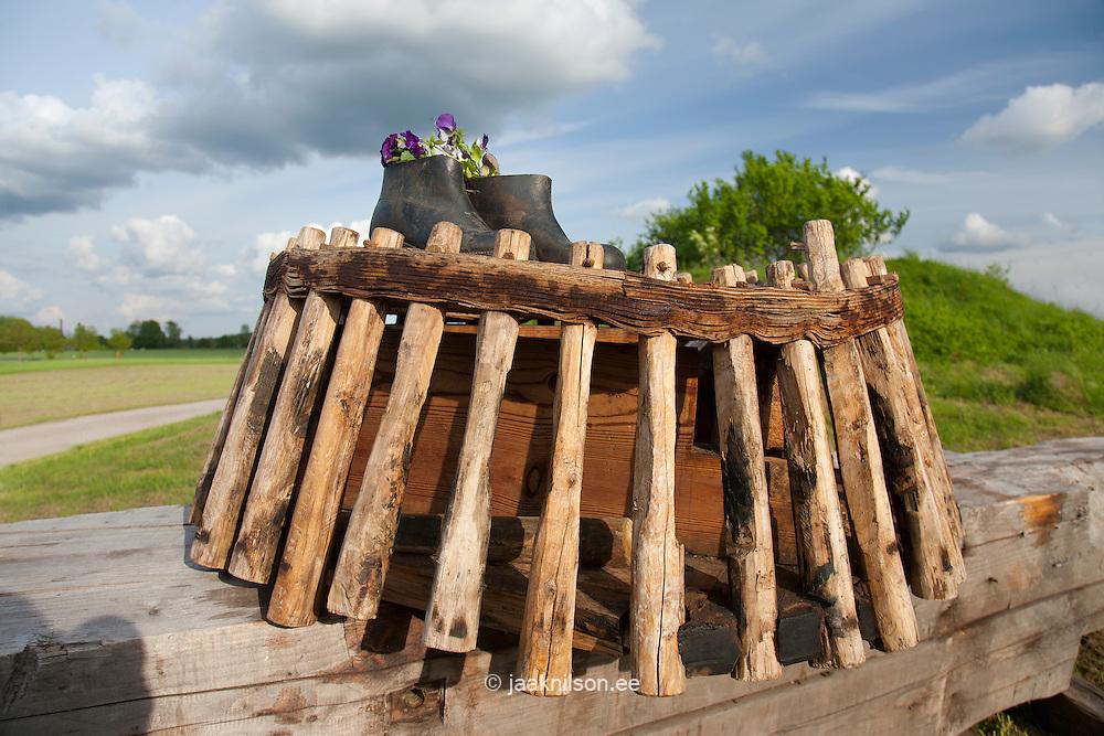 Exhibition, Seidla Manor Windmill, Järva County, Estonia, Europe