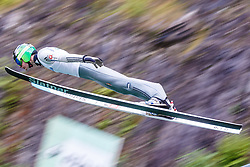 Domen Prevc of Slovenia during Ski Jumping Continental Cup in Kranj, Slovenia Photo by Grega Valancic / Sportida