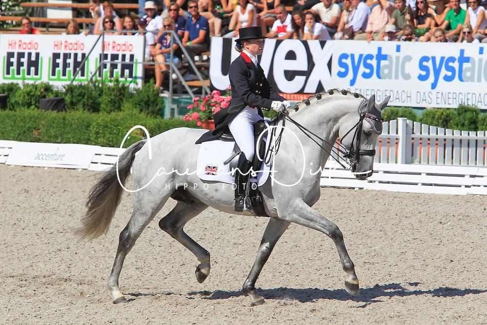 Hayler Roberta (GBR) - Aldborough Rubenhall<br /> European Championships Junior 2010<br /> &copy; Hippo Foto - Leanjo de Koster