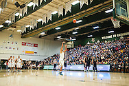 Vermont's Anthony Lamb (3) shoots a free throw after an intentional foul call during the men's basketball game between the Dartmouth Big Green and the Vermont Catamounts at Patrick Gym on Wednesday December 7, 2016 in Burlington (BRIAN JENKINS/for the FREE PRESS)
