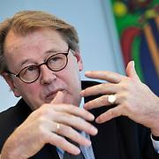 Nederland, Utrecht, 17-01-2013 . Jaap Smit voorzitter CNV tijdens een interview.  FOTO: Gerard Til