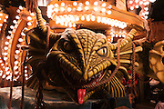 Detail photo of Odyssey by Masqueraders CC, winner of the Feature Cart Open class, at the 2010 Bridgwater Guy Fawkes Carnival.