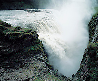 Cascade waterfall elevated view