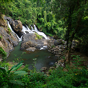 Nam Tok Phasua or Phasua waterfall in Mae Hong Song, Thailand