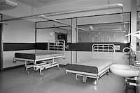Empty ward at soon to be closed Nether Edge Hospital, Sheffield.