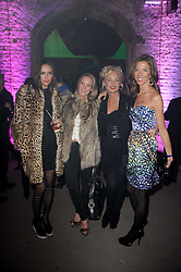 Left to right, SASHA VOLKOVA, ALICE WILSON, AMANDA ELIASCH and HEATHER KERZNER at the launch of 2 collections by jeweller Stephen Webster - ÔThe 7 Deadly SinsÕ and ÔNo RegretsÕ held at The Old Vics Tunnels, Under Waterloo Station, Off Leake Street, London SE1 on 8th December 2010.<br /> Left to right, SASHA VOLKOVA, ALICE WILSON, AMANDA ELIASCH and HEATHER KERZNER at the launch of 2 collections by jeweller Stephen Webster - 'The 7 Deadly Sins' and 'No Regrets' held at The Old Vics Tunnels, Under Waterloo Station, Off Leake Street, London SE1 on 8th December 2010.