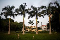 Street scenes in a nice part of Belize City, Belize