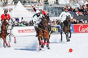 2018, Januari 25. St. Moritzersee, St. Moritz. Snowpolo World Cup 2019. Op de foto: Team Cartier vs Team Azerbaijan
