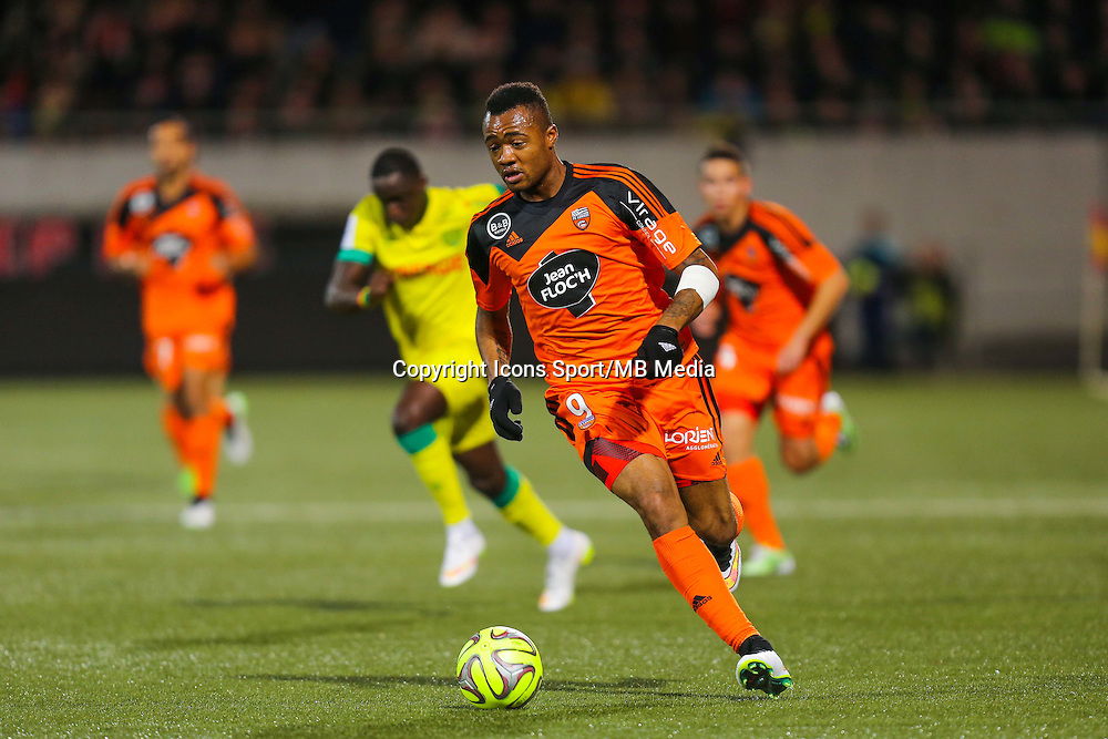 Jordan AYEW  - 20.12.2014 - Lorient / Nantes - 19eme journee de Ligue 1 -<br /> Photo : Vincent Michel / Icon Sport