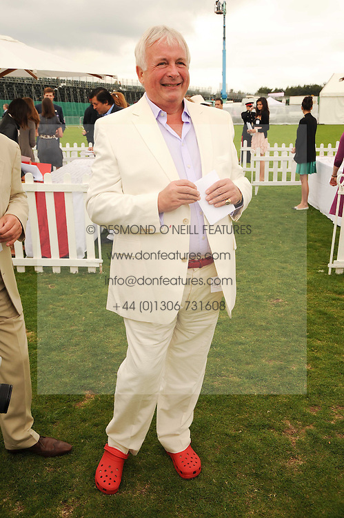 CHRISTOPHER BIGGINS at the Cartier International Polo at Guards Polo Club, Windsor Great Park, Berkshire on 25th July 2010.