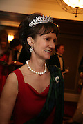 Iona, Duchess of Argyll, The Royal Caledonian Ball 2007. Grosvenor House. 4 May 2007.  -DO NOT ARCHIVE-© Copyright Photograph by Dafydd Jones. 248 Clapham Rd. London SW9 0PZ. Tel 0207 820 0771. www.dafjones.com.
