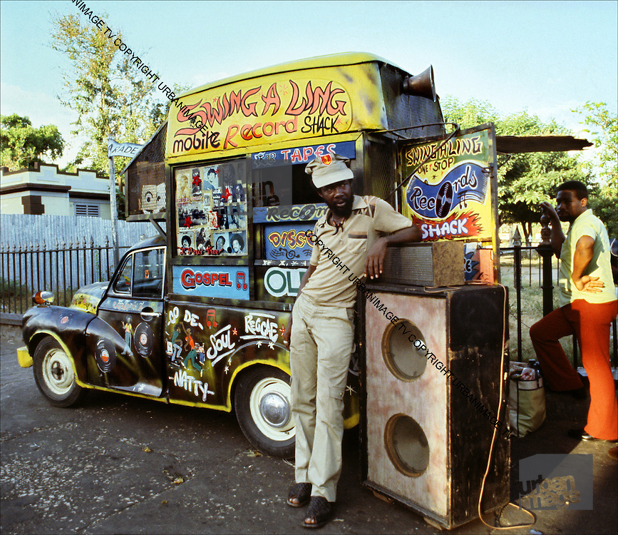 Charlie Ace's Swing-a-Ling mobile record and  recording shop and studio - 1973