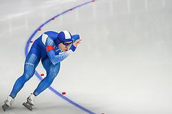 February 23, 2018 - Pyeongchang, Gangwon, South Korea - Kim Tae-Yun of South Korea.at 1000 meter speedskating at winter olympics, Gangneung South Korea on February 23, 2018. (Credit Image: © Ulrik Pedersen/NurPhoto via ZUMA Press)