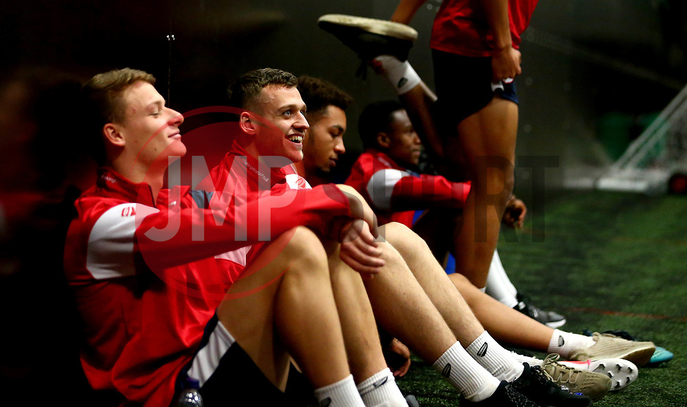Aden Baldwin and his Bristol City Under 23 teammates return to training with fitness testing ahead of the 2017/18 season - Mandatory by-line: Robbie Stephenson/JMP - 30/06/2017 - FOOTBALL - SGS Wise Campus - Bristol, United Kingdom - Bristol City Under 23's Fitness Tests