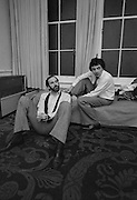 John Cleese and Rowan Atkinson