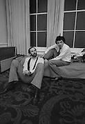 John Cleese and Rowan Atkinson
