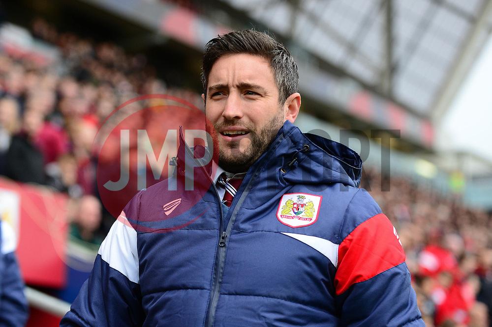 Bristol City head coach Lee Johnson  - Mandatory by-line: Dougie Allward/JMP - 21/10/2017 - FOOTBALL - Ashton Gate Stadium - Bristol, England - Bristol City v Leeds United - Sky Bet Championship