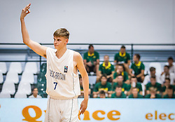 Okros  Mate of Great Britain during basketball match between National teams of Great Britain and Slovenia in the Quarter-Final of FIBA U18 European Championship 2019, on August 1, 2019 in Nea Ionia Hall, Volos, Greece. Photo by Vid Ponikvar / Sportida