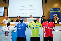 Press conference of cycling race Tour Slovenia 2018, on May 17, 2018, in Ljubljana, Slovenia. Photo by Vid Ponikvar / Sportida