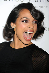 60958926<br /> Rosario Dawson attends Roadside Attractions & Day 28 Films and The Cinema Society Screening of \'Gimme Shelter\' at The Museum of Modern Art , New York City, USA, Wednesday, 22nd January 2014. Picture by  imago / i-Images<br /> UK ONLY