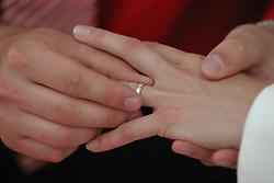 Wedding. (Photo by Vid Ponikvar / Sportida)